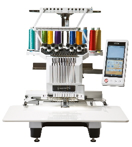 Brother® PR1000e -  most powerfull  embroidery tool on the market